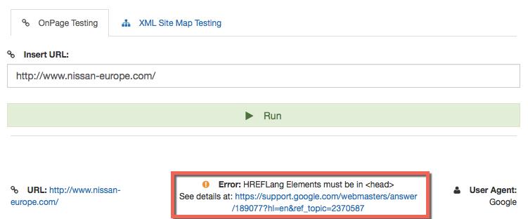 hreflang xml sitemap builder